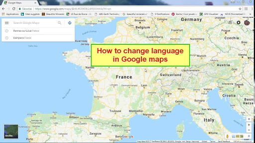 Change the Google Maps voice on an Android Phone